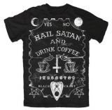 Футболка - Blackcraft - Hail Satan And Drink Coffee